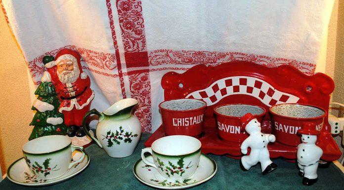 Ceramica francese - Natale brocante