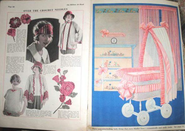Ribbon art magazine nursery