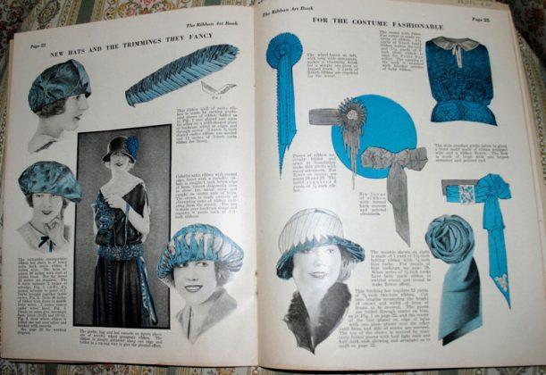 Ribbonwork magazine hats