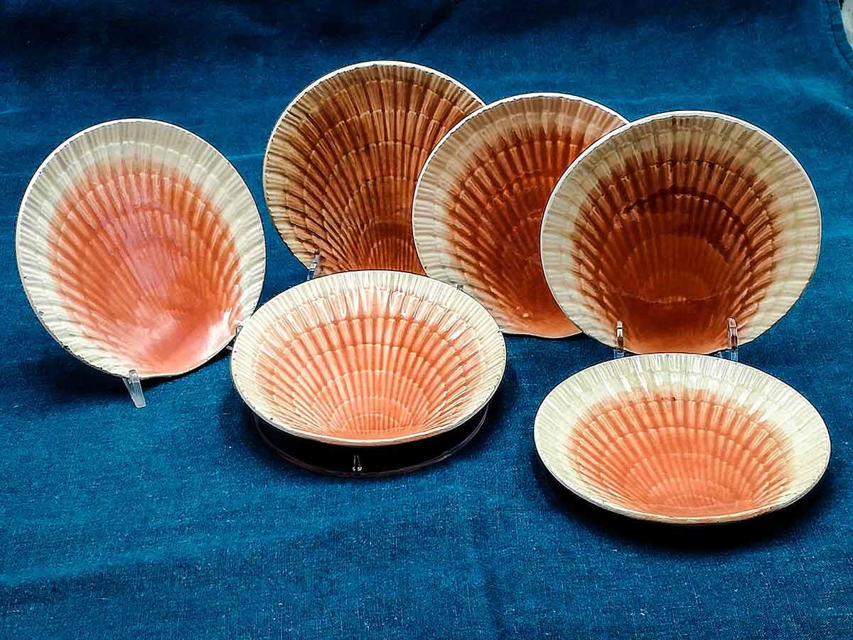 Piatti Barbotine da collezione Sarreguemines